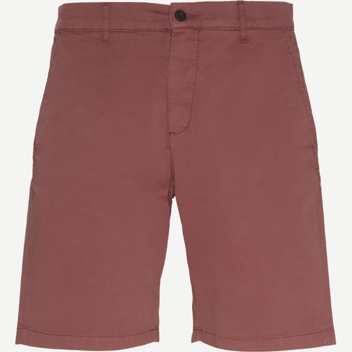 Crown Shorts - Shorts - Regular - Rød