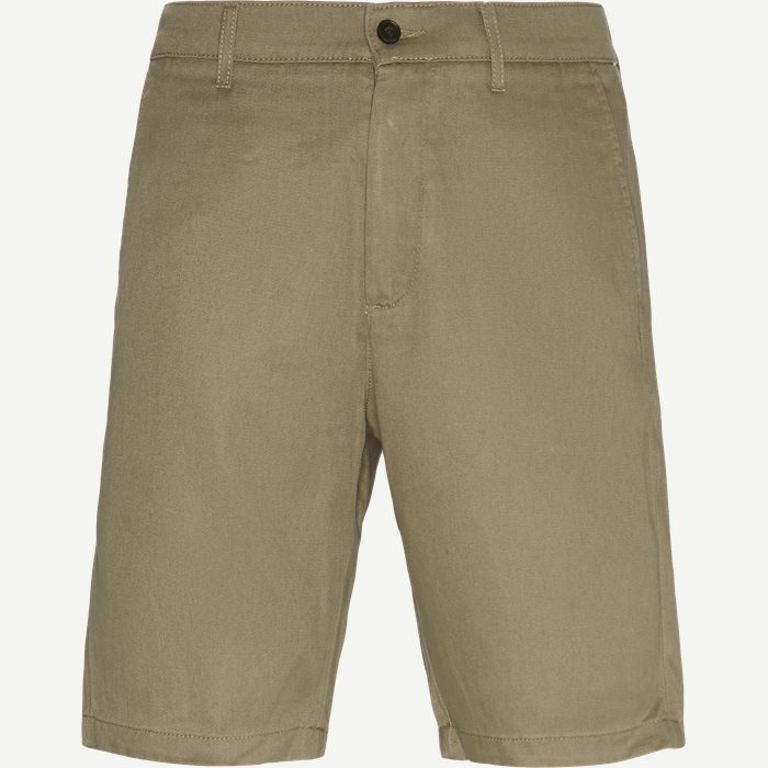 Crown Shorts - Shorts - Regular - Grøn