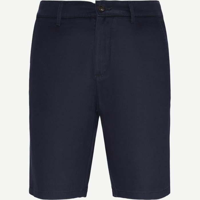 Crown Shorts - Shorts - Regular - Blå