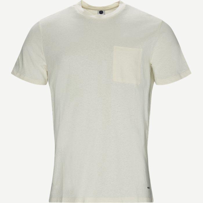 Barry 3266 Pocket Tee - T-shirts - Regular - Hvid