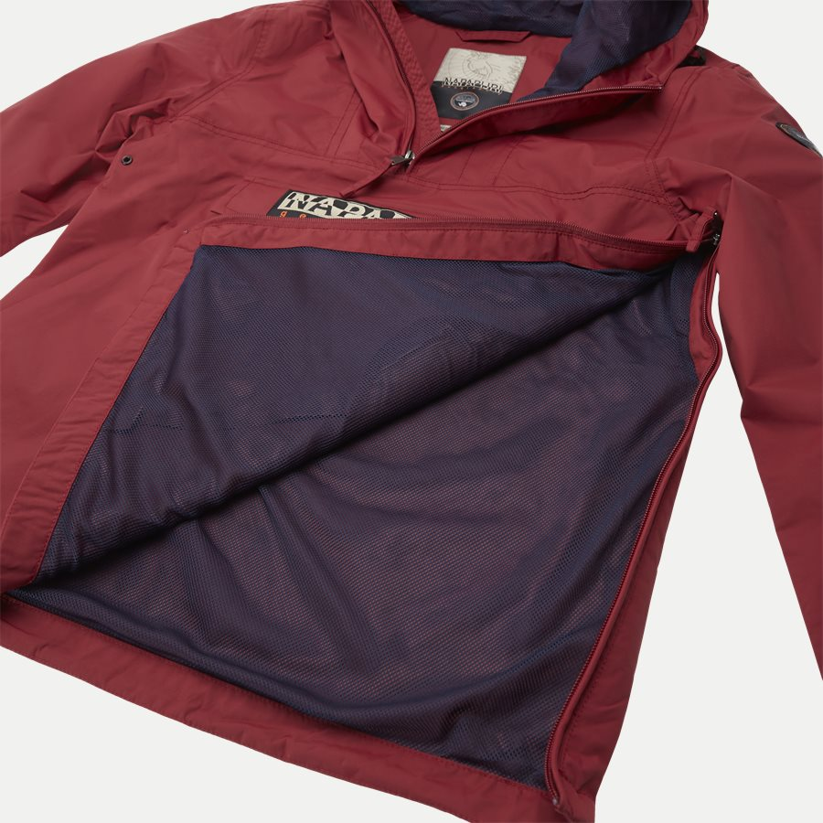RAINFOREST - Jackets - Regular - RØD - 9