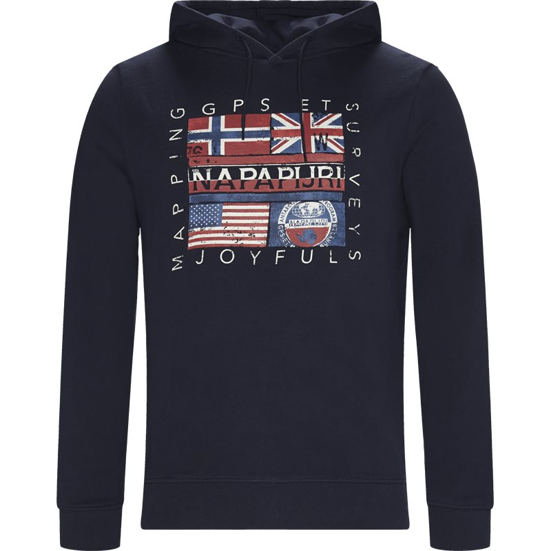 Napapijri - bachu sweatshirt fra napapijri fra kaufmann.dk