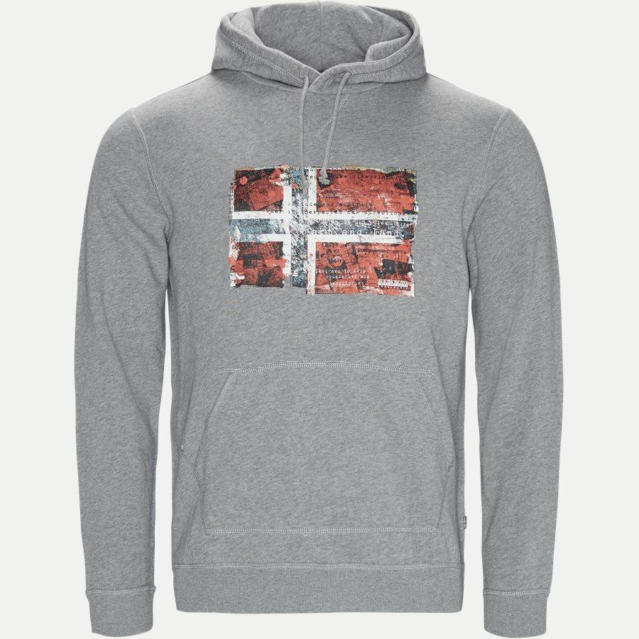 BEITEM H - Sweatshirts - Regular - GRÅ - 1