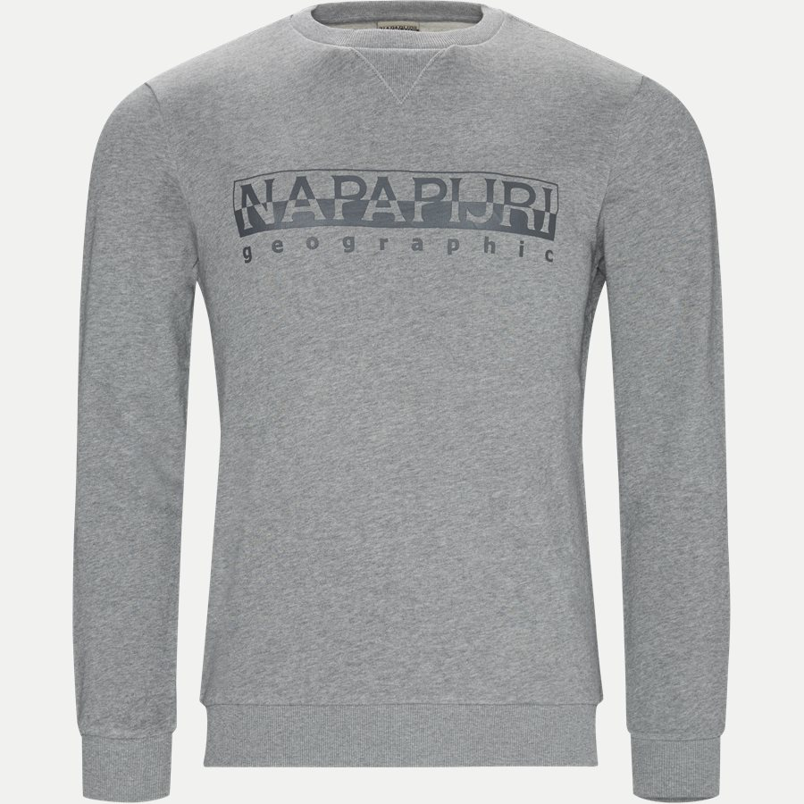 BEVORA C - Sweatshirts - Regular - GRÅ - 1