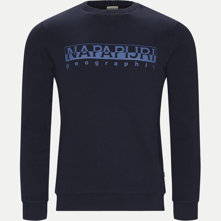 BEVORA C - Sweatshirts - Regular - NAVY - 1