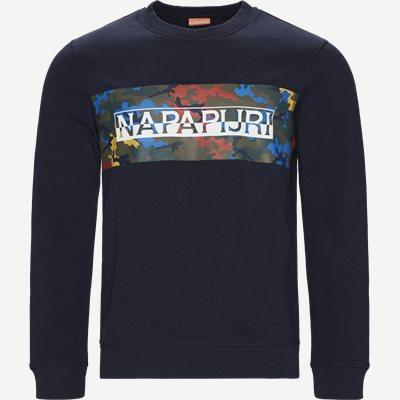 Balka C Crew Neck Sweatshirt Regular | Balka C Crew Neck Sweatshirt | Blå