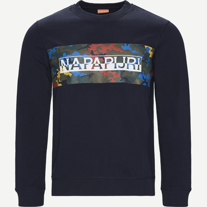Sweatshirts - Regular - Blau