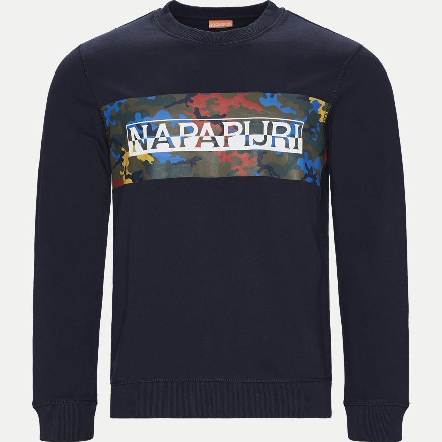 BALKA C - Sweatshirts - Regular - NAVY - 1