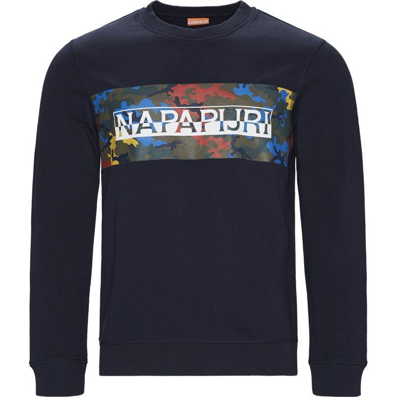 napapijri – Napapijri - balka c crew neck sweatshirt fra kaufmann.dk