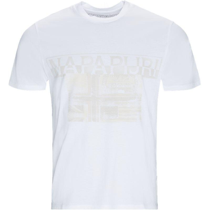 Napapijri - sawy t-shirt fra napapijri på kaufmann.dk
