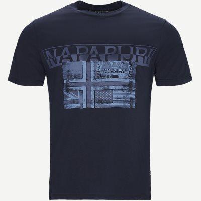 Sawy T-shirt Regular | Sawy T-shirt | Blå