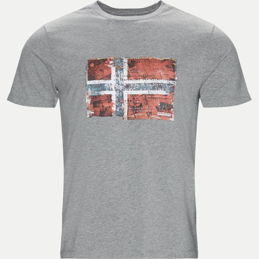 SEITEM - T-shirts - Regular - GRÅ - 1