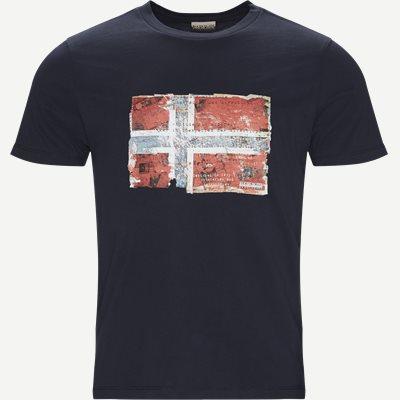Seitem T-shirt Regular   Seitem T-shirt   Blå