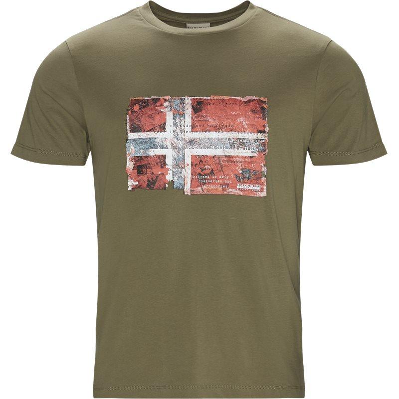 Napapijri - seitem t-shirt fra napapijri på kaufmann.dk