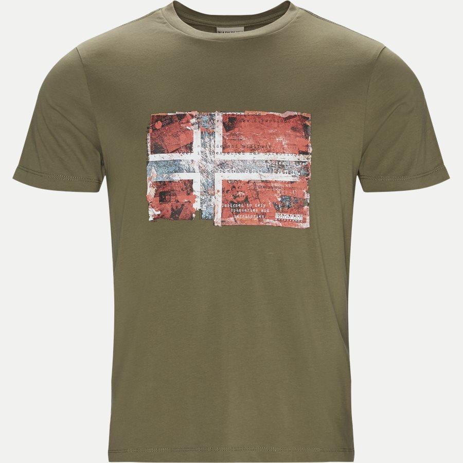 SEITEM - Seitem T-shirt - T-shirts - Regular - OLIVEN - 1