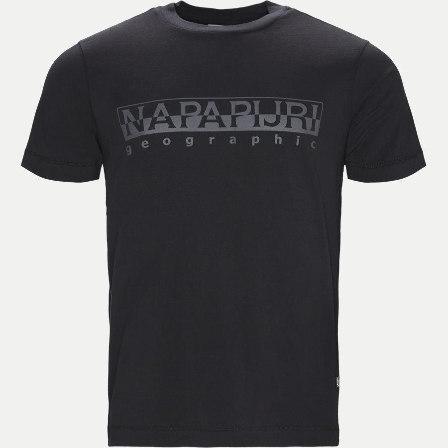 SEVORA - T-shirts - Regular - SORT - 1