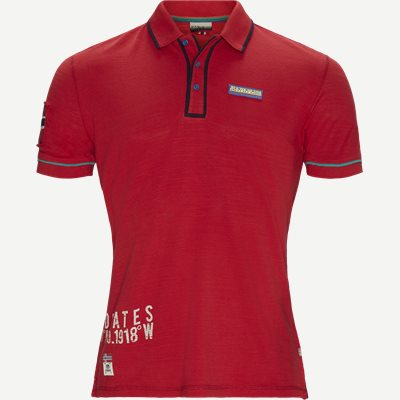Elize Polo T-shirt Regular | Elize Polo T-shirt | Rød