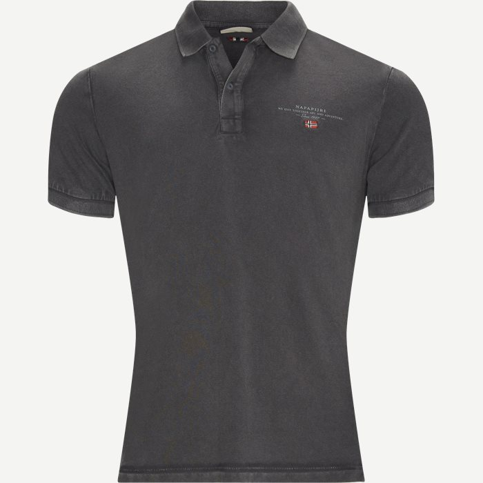 Elbas 2 Polo T-shirt - T-shirts - Regular - Grå