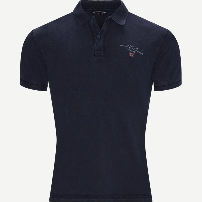 Elbas 2 Polo T-shirt - T-shirts - Regular - Blå