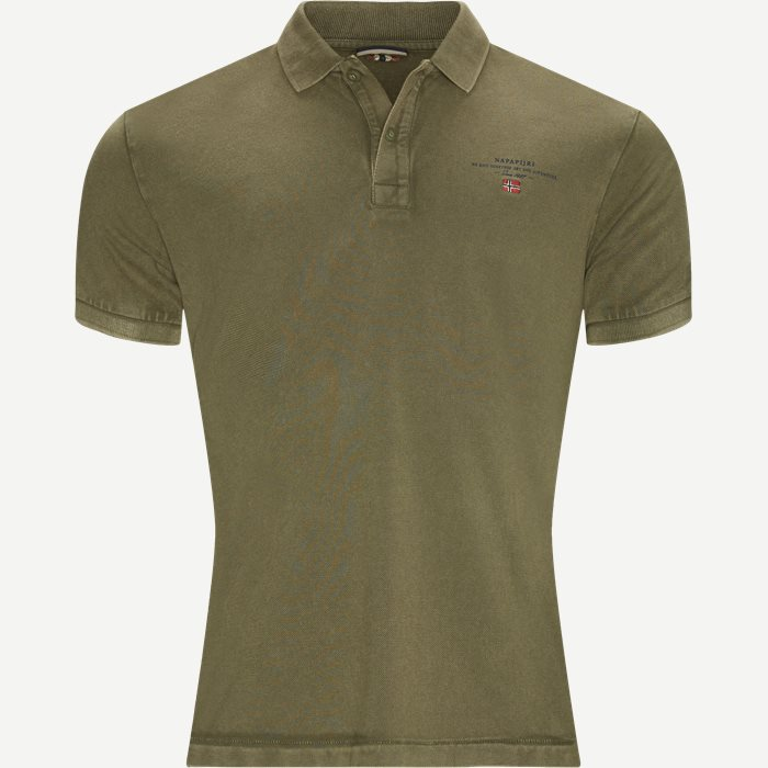 Elbas 2 Polo T-shirt - T-shirts - Regular - Army