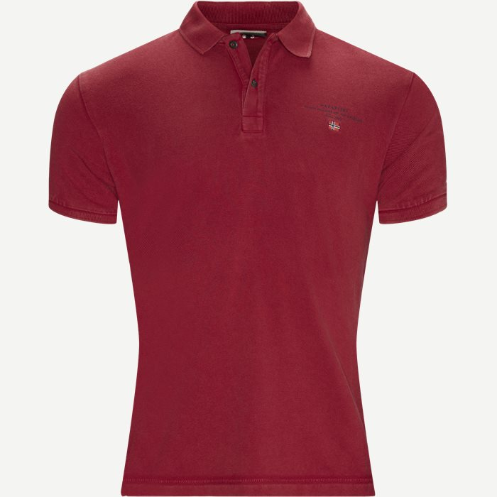 Elbas 2 Polo T-shirt - T-shirts - Regular - Rød