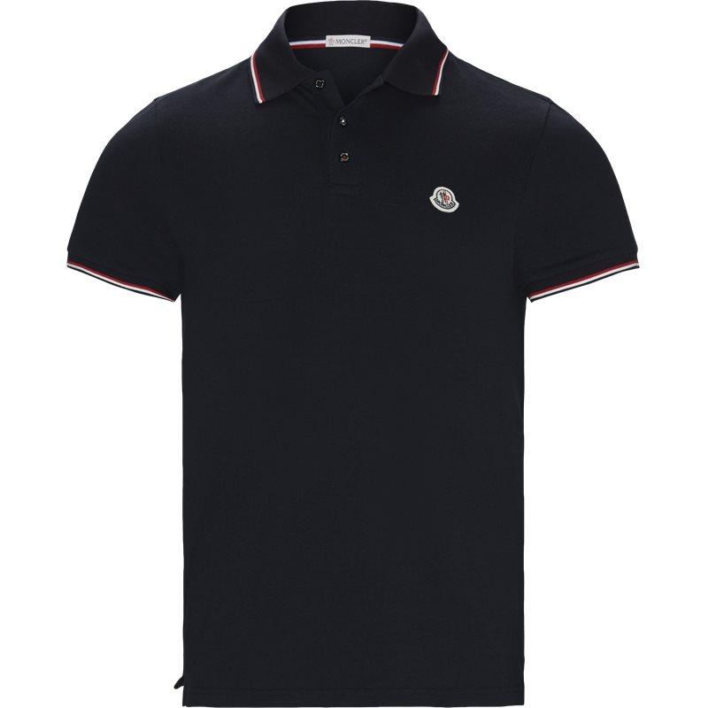 Billede af Moncler Regular fit 83456 84556 T-shirts Navy