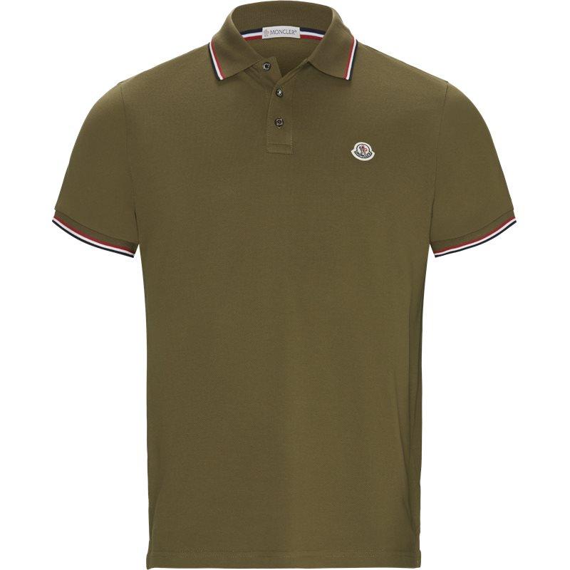 Billede af Moncler Regular fit 83456 84556 T-shirts Oliven