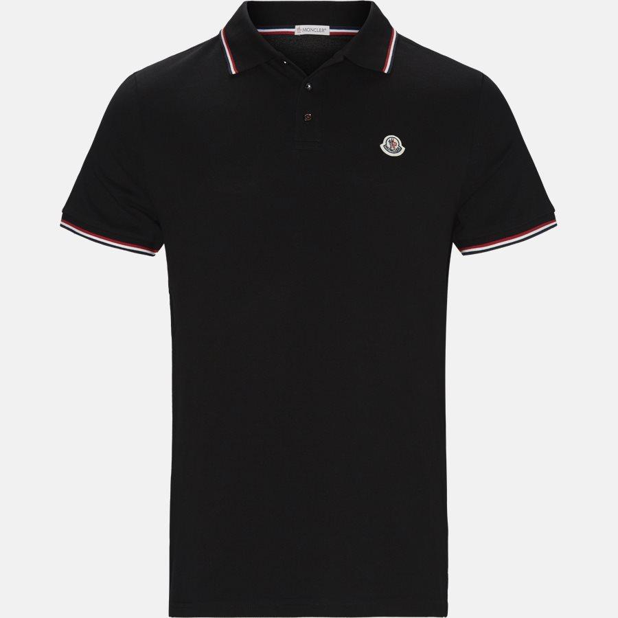 83456 84556 - T-shirts - Regular fit - SORT - 1