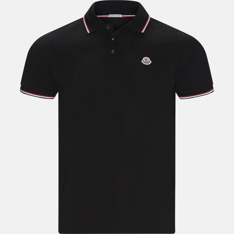 83456 84556 - T-shirts - Regular fit - SORT - 2