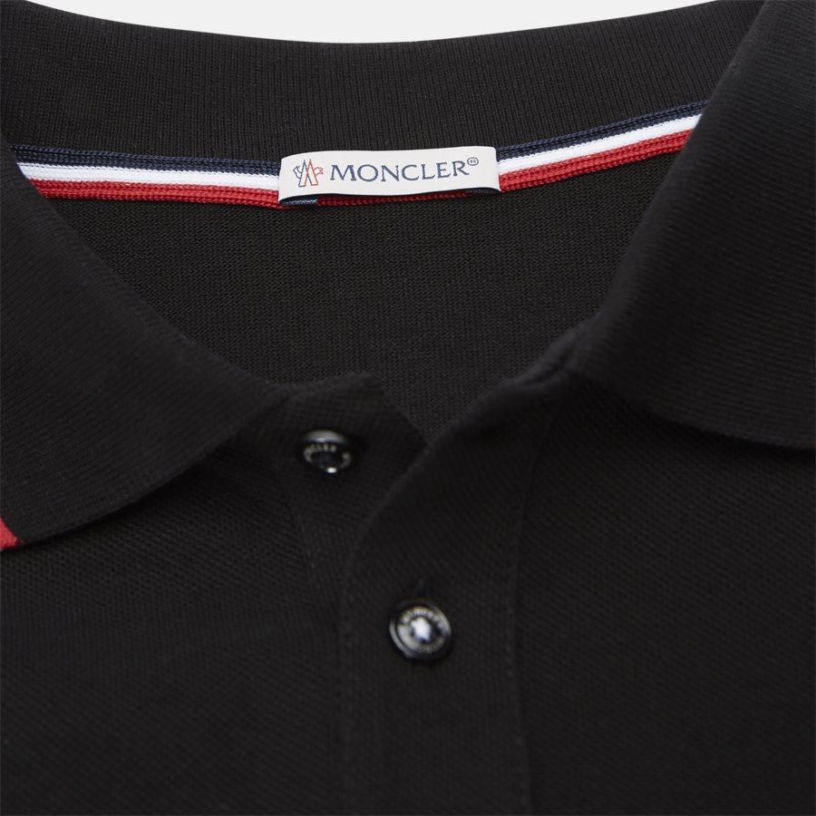 83456 84556 - T-shirts - Regular fit - SORT - 4