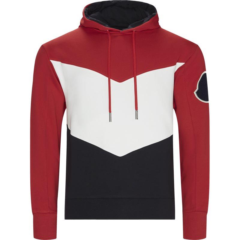 Billede af Moncler Regular fit 80005 V8005 Sweatshirts Rød