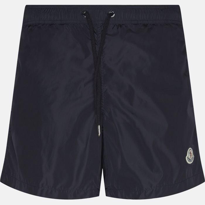 Shorts - Regular fit - Blå