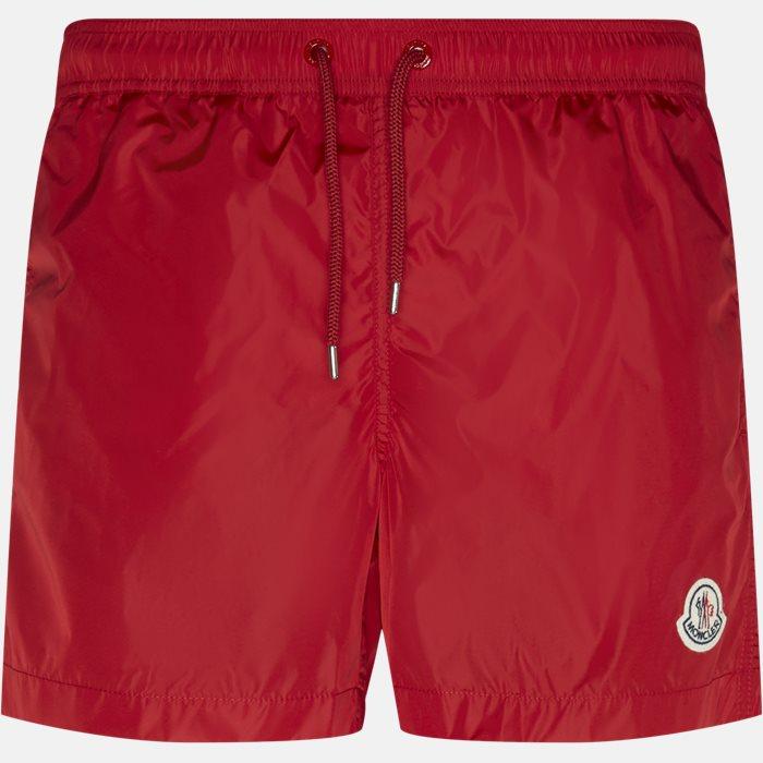 Shorts - Regular fit - Rød