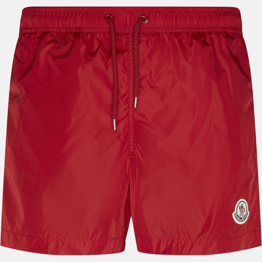 00761 53326 - Shorts - Regular fit - RØD - 1