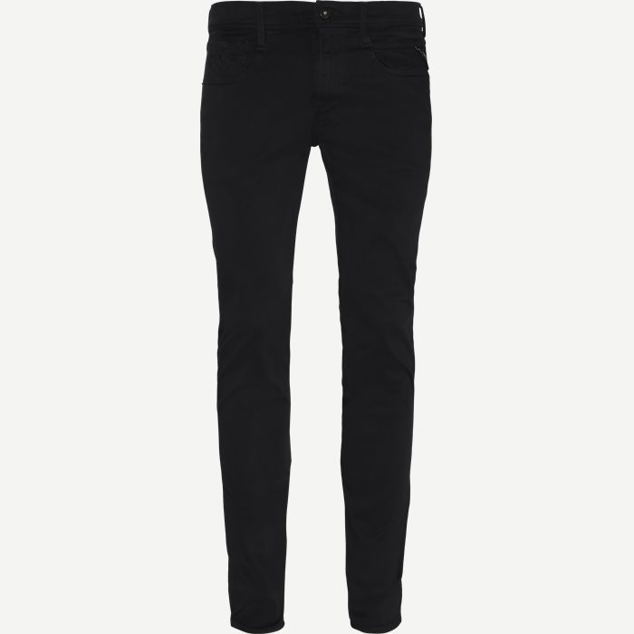 Anbass Hyperflex Jeans - Jeans - Slim - Sort