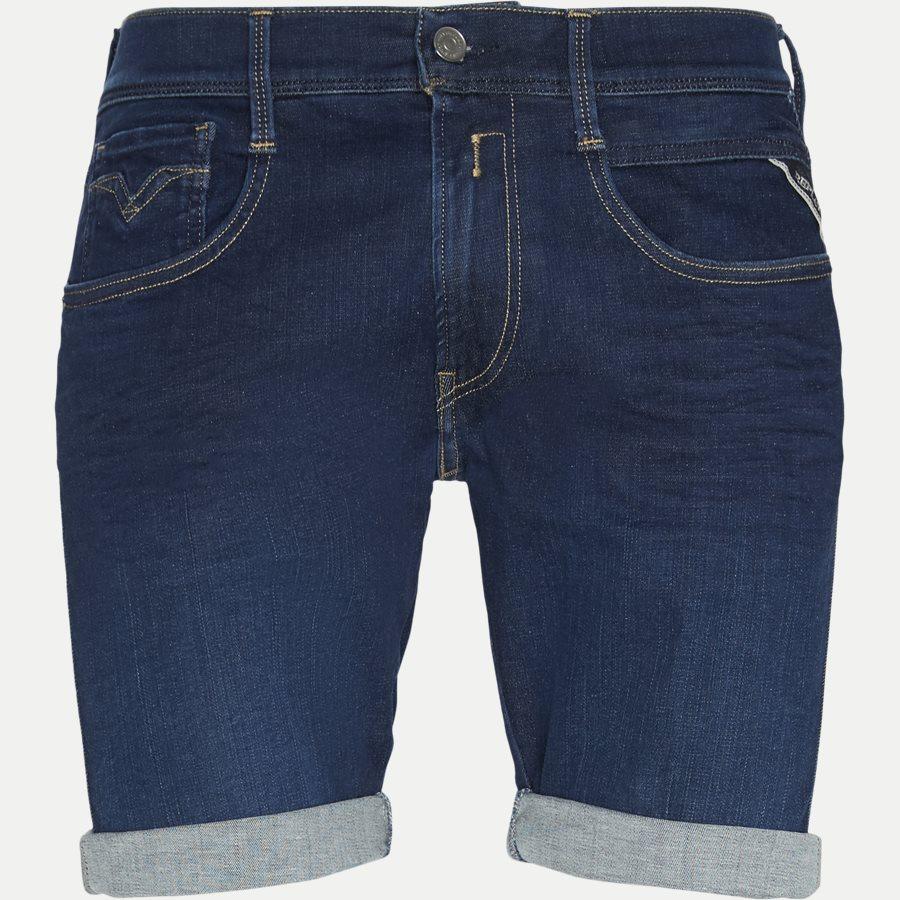 MA996 661 400 - Anbass Shorts - Shorts - Slim - DENIM - 1