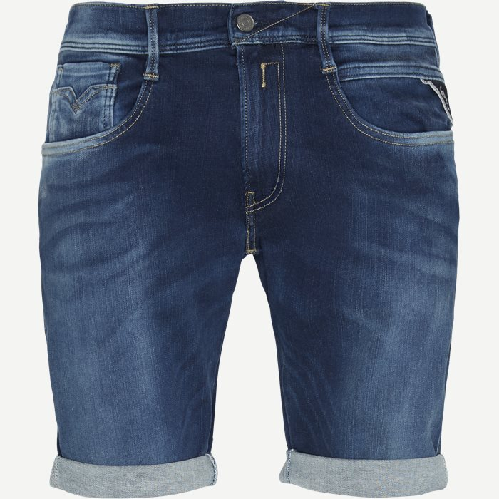Anbass Shorts - Shorts - Slim - Denim