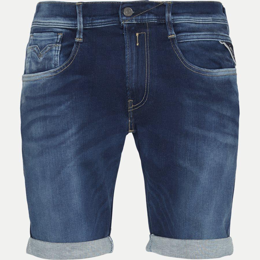 MA9996 661 402 - Anbass Shorts - Shorts - Slim - DENIM - 1