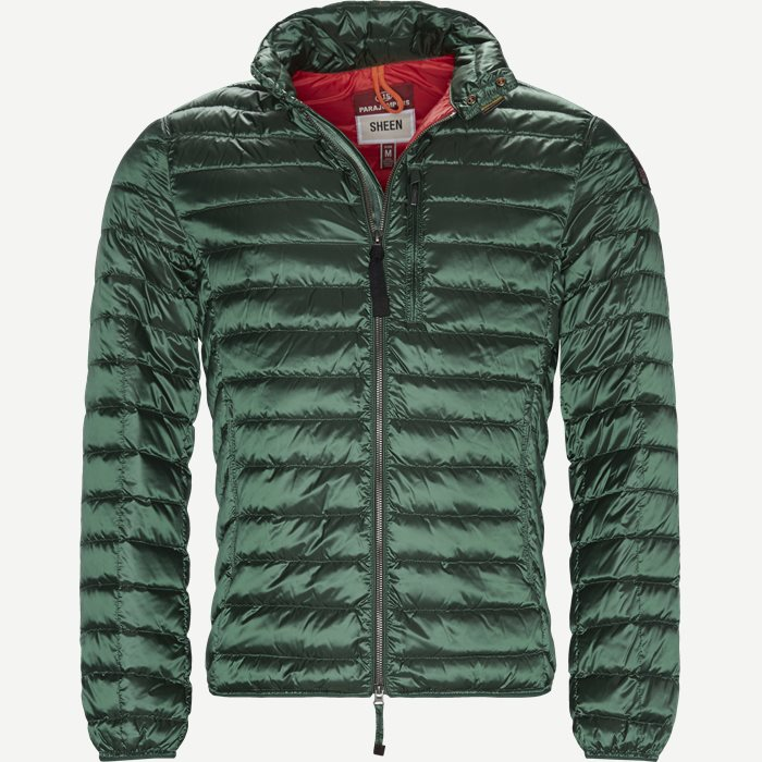 Bredford Sheen Down Jacket - Jakker - Regular - Grøn