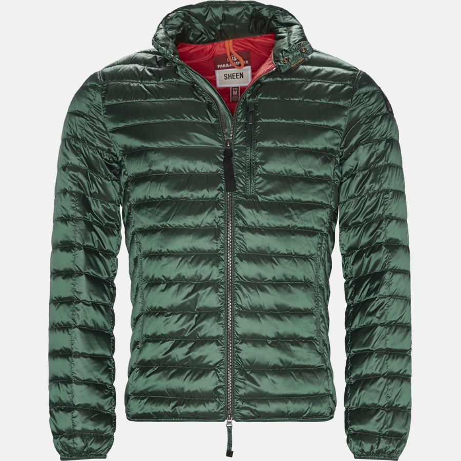SX03 BREDFORD - Bredford Sheen Down Jacket - Jakker - Regular - GRØN - 1