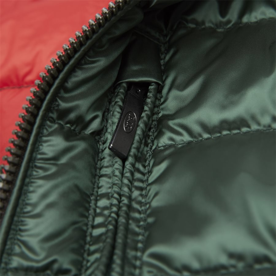 SX03 BREDFORD - Bredford Sheen Down Jacket - Jakker - Regular - GRØN - 7