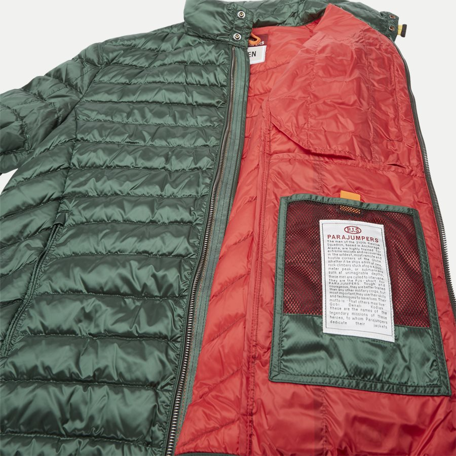 SX03 BREDFORD - Bredford Sheen Down Jacket - Jakker - Regular - GRØN - 9