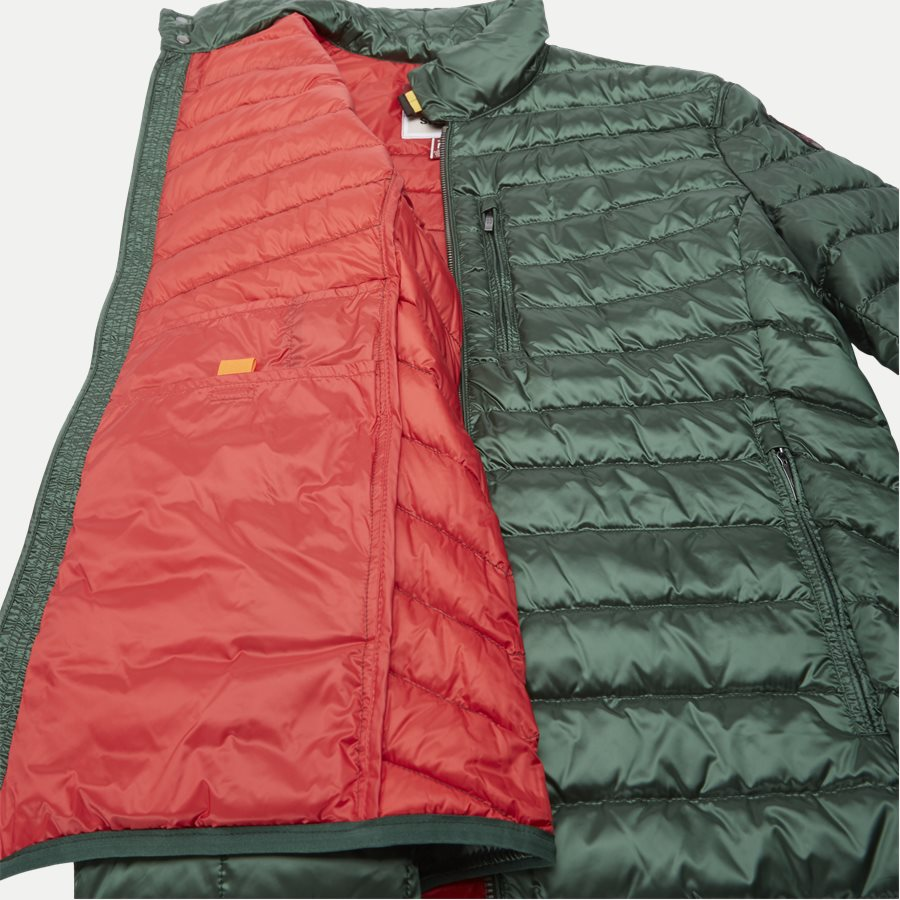 SX03 BREDFORD - Bredford Sheen Down Jacket - Jakker - Regular - GRØN - 10