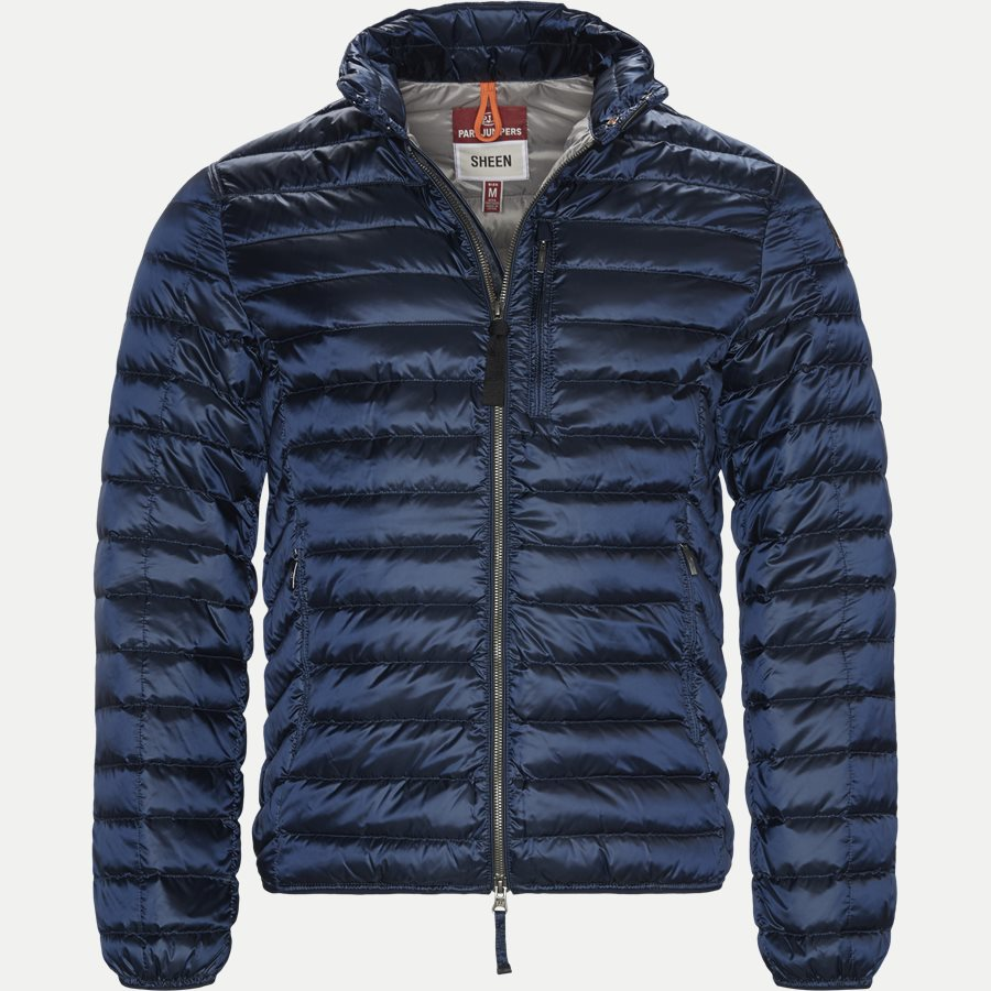 SX03 BREDFORD - Bredford Sheen Down Jacket - Jakker - Regular - NAVY - 1