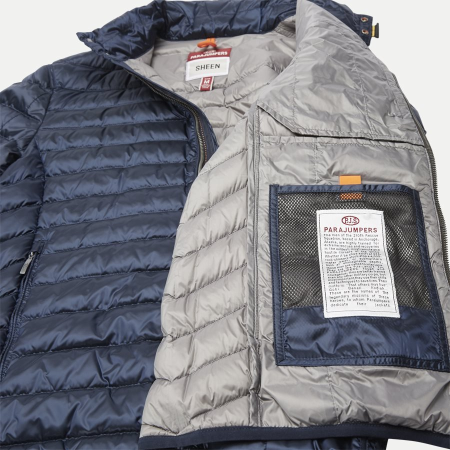 SX03 BREDFORD - Bredford Sheen Down Jacket - Jakker - Regular - NAVY - 9