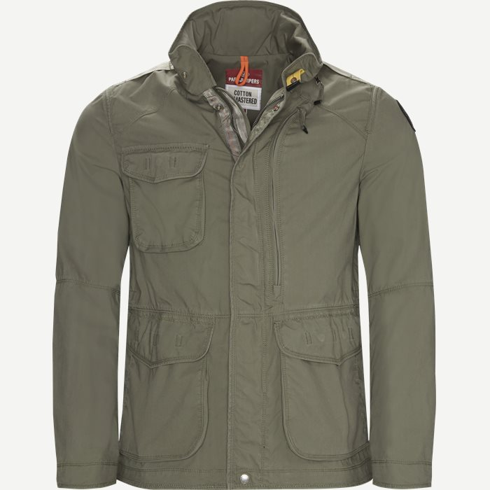 Denes - Man Jacket - Jakker - Regular - Army