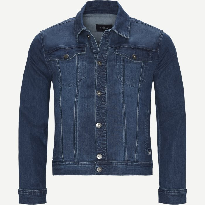Raw Blast Denim Jacket - Jakker - Regular - Denim