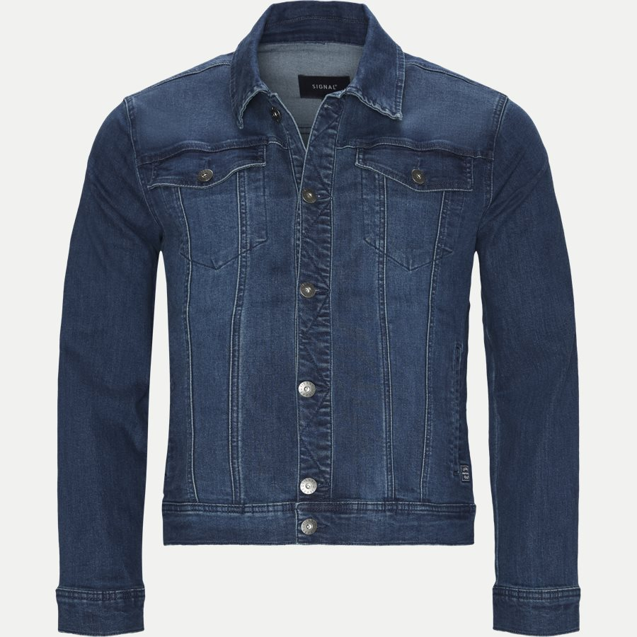 10126 1214 - Raw Blast Denim Jacket - Jakker - Regular - DENIM - 1
