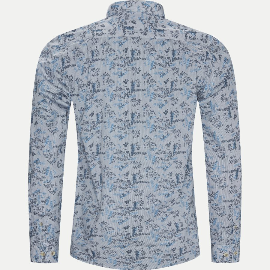 15284 1254 - Mads Blue Print CP  - Skjorter - Regular - BLÅ - 2