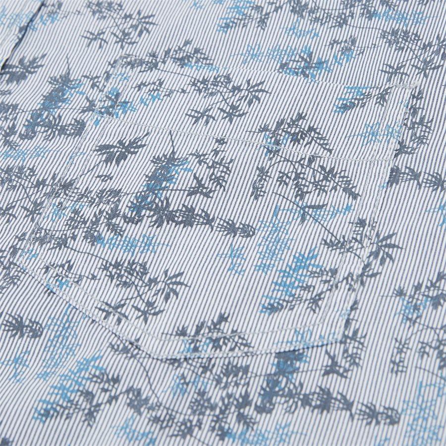 15284 1254 - Mads Blue Print CP  - Skjorter - Regular - BLÅ - 3